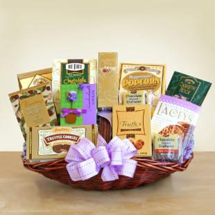 Gourmet Greetings of Gratitude Gift Basket