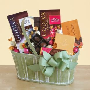 Godiva for Mom Gift Basket