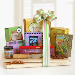 Cheese and Snack Board Picnic Gift Set