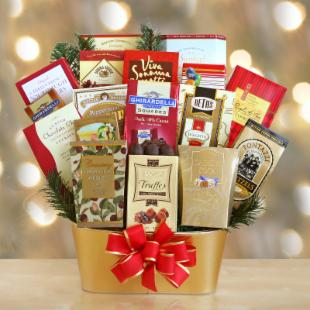 Gourmet Bounty Gift Basket