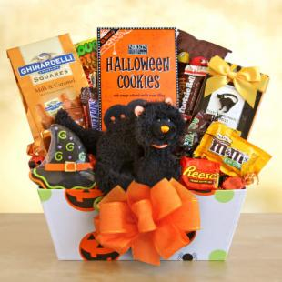 Scaredy Cat Treats Gift Basket