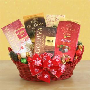 Godiva Holiday Gift Basket