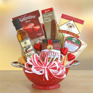 What's Cooking, Valentine? Gift Basket