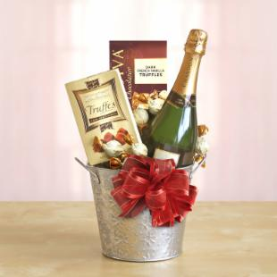 Silver Star Domaine Chandon Gift Pail