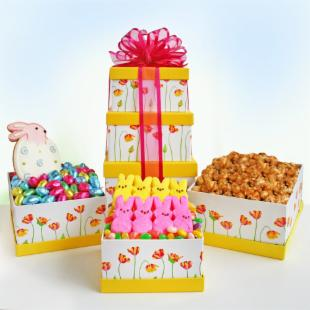 Joyful Easter Gift Tower