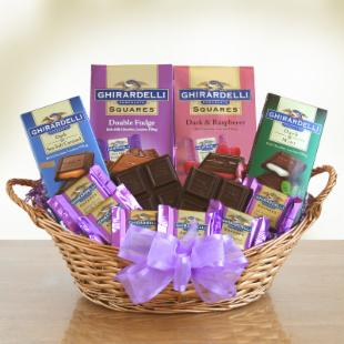 Ghirardelli for Mom Gift Basket