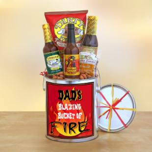 Hot for Dad Gift Basket