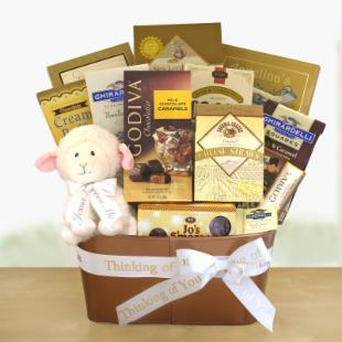 Come Unto Him Sympathy Gift Basket