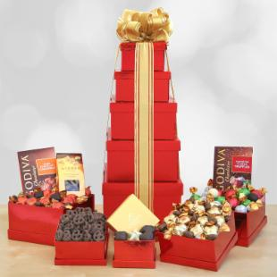Godiva Holiday Chocolate Gift Tower