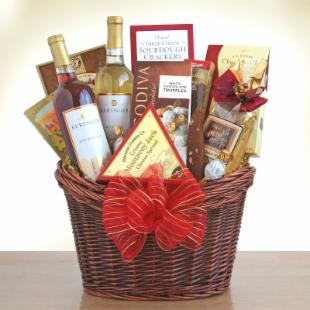 Marvelous Moscato Gourmet Gift Basket