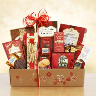 Holiday Dreams of Chocolate Gift Box