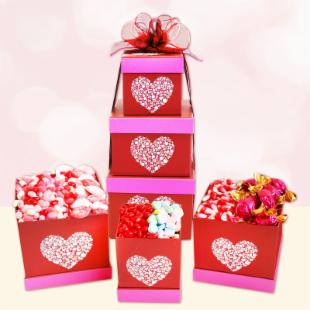Sweets for my Red Hot Valentine Gift Basket