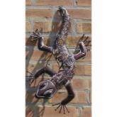  Ancient Graffiti Metal Die Cut Lizard Wall Sculpture