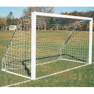 Goal Sporting Goods Indoor/Outdoor Square Aluminum Official Soccer Goals - Pair