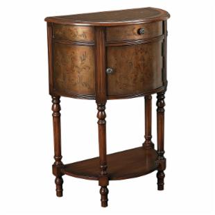 Hammary Hidden Treasures Crescent Accent Table