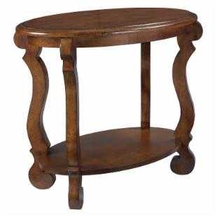 Hammary Siena Oval End Table