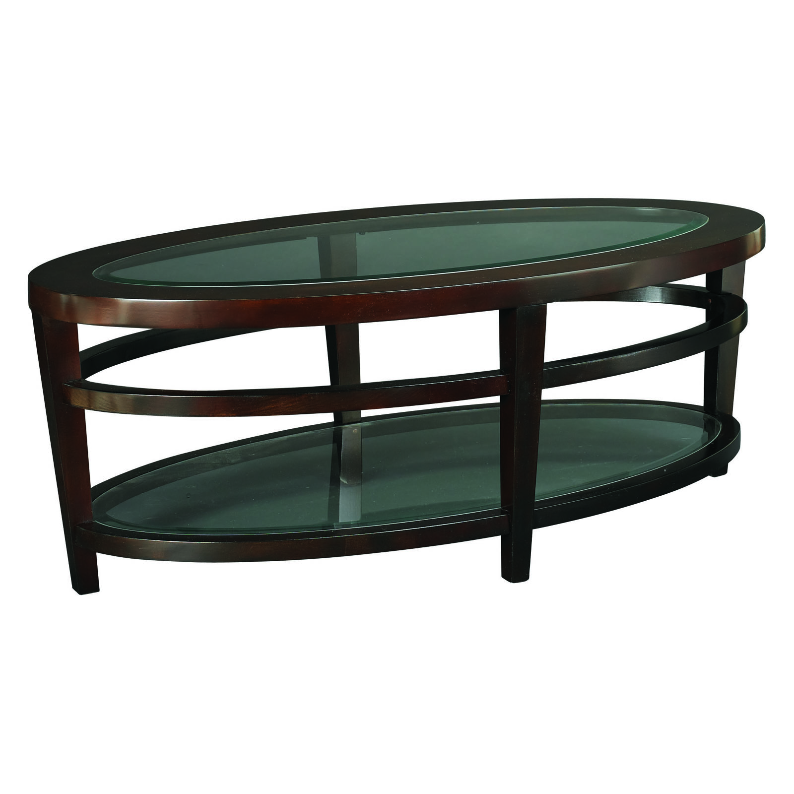 Hammary urbana oval coffee table coffee tables at hayneedle for Table urbana but