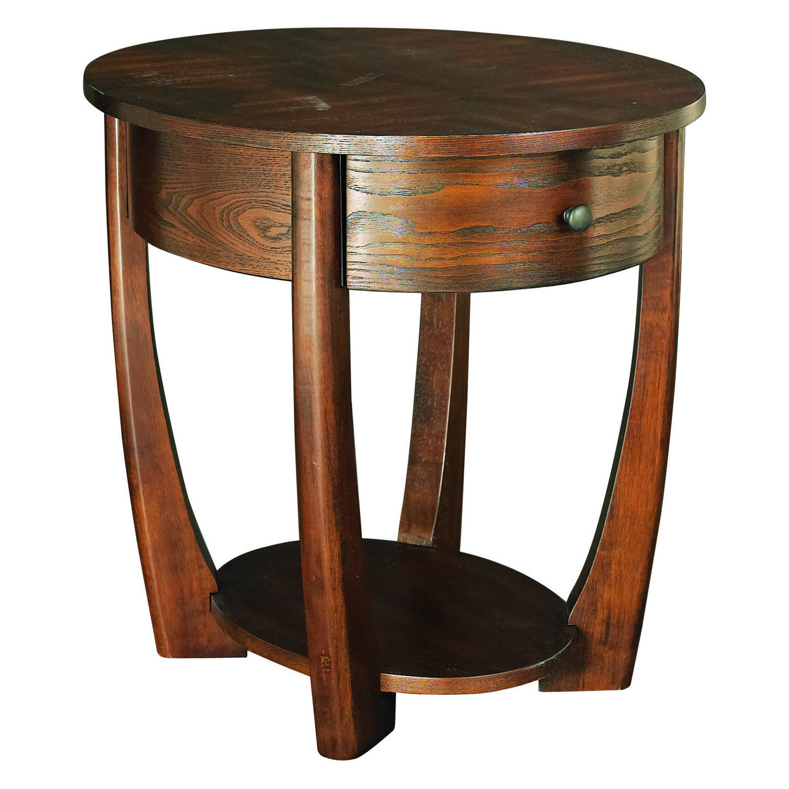 Hammary concierge oval end table tables at hayneedle