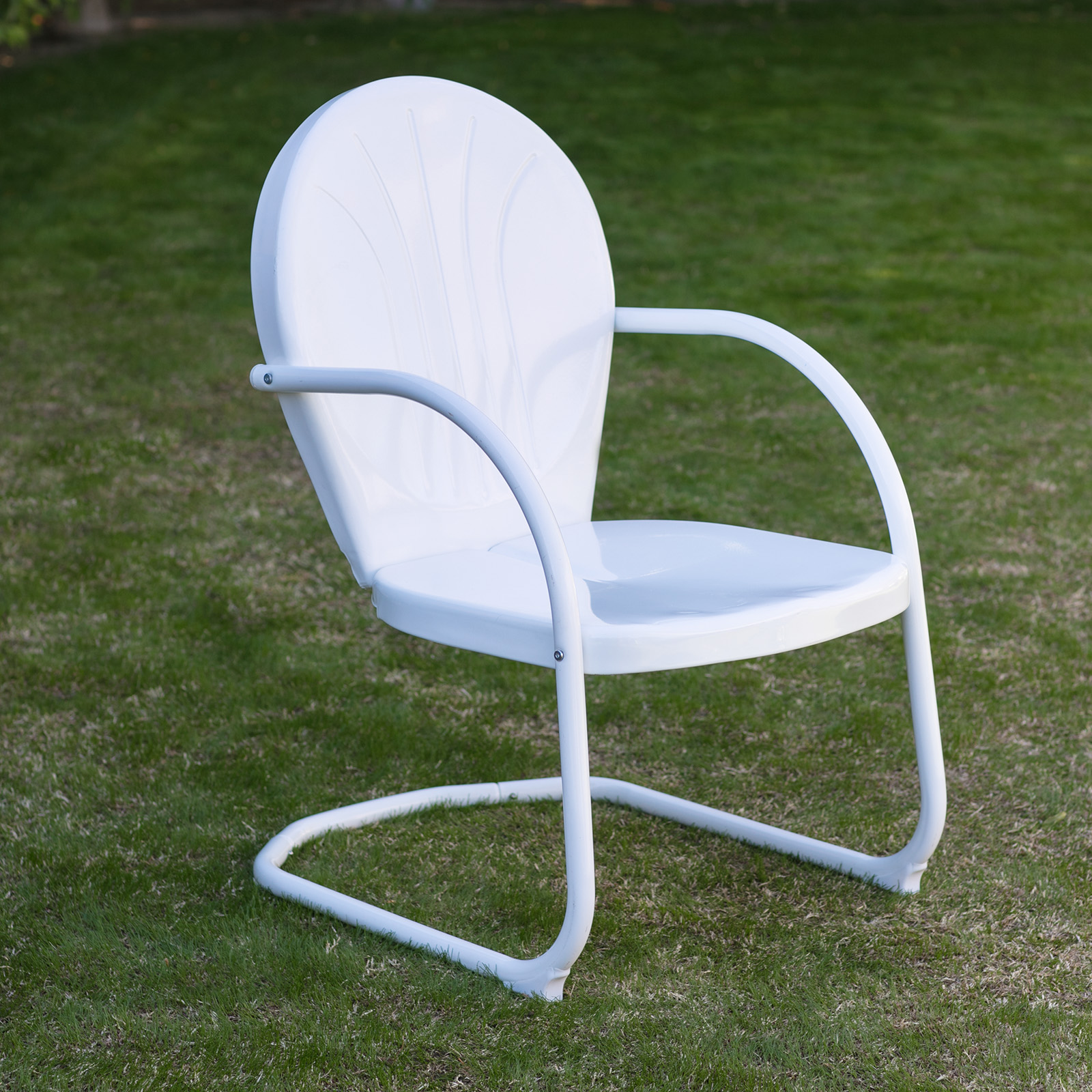 Coral Coast Vintage Metal Retro Chair Outdoor Lounge Chairs At Hayneedle