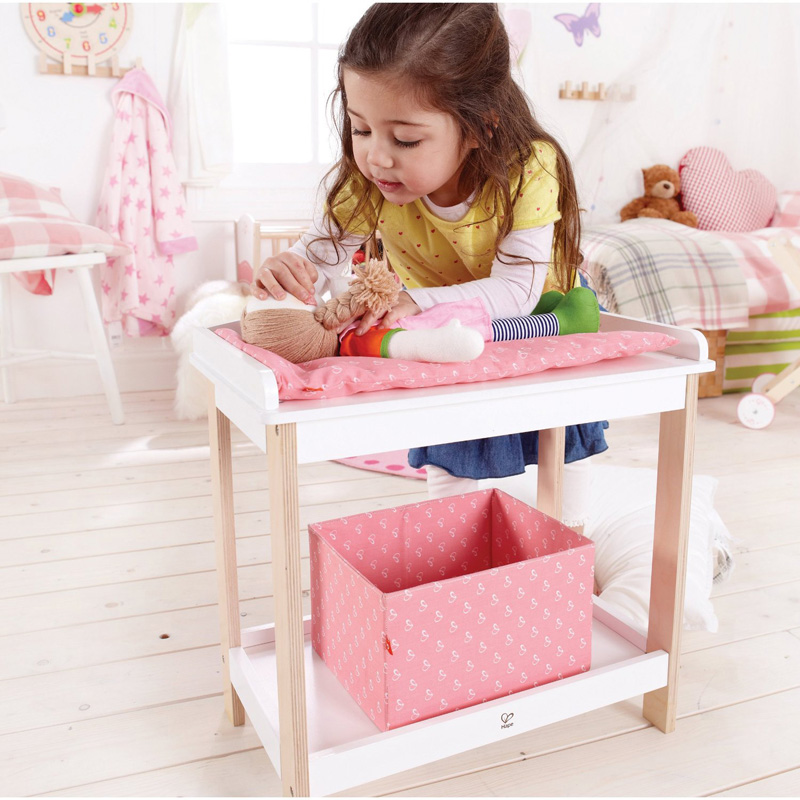Hape Toys Doll Changing Table Baby Doll Furniture At