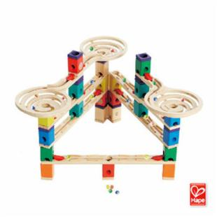 Hape Toys The Vertigo Quadrilla Marble Run