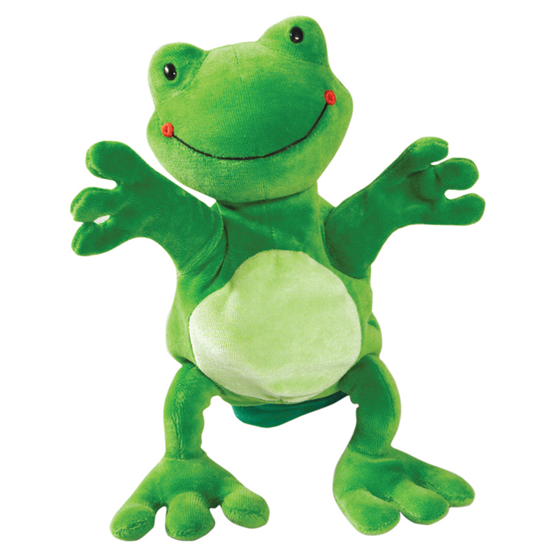 Hape Frog Glove Puppet At Hayneedle