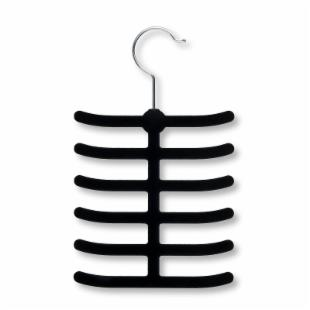 Honey Can Do 12 Hook Tie Hangers - Set of 20