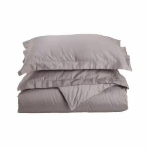 Luxor Treasures 400 Thread Count Egyptian Cotton Solid Duvet Cover Set