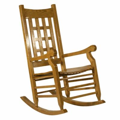  Adult Lattice Back Rocker Slat Seat