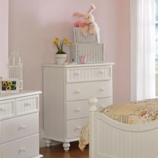 Westfield Cottage White Chest of Drawers