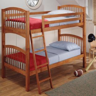 Cascade Twin over Twin Bunk Bed