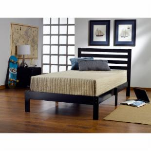 Aiden Panel Twin Bed - Black
