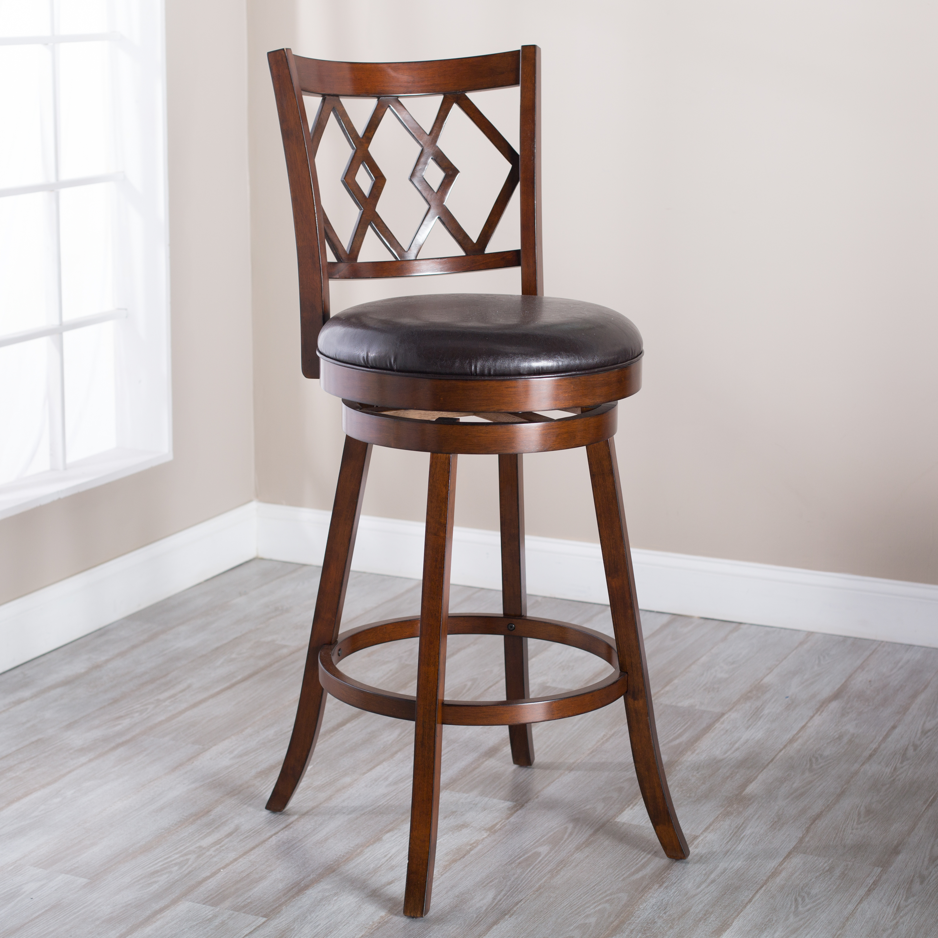 Belham living reno extra tall swivel bar stool