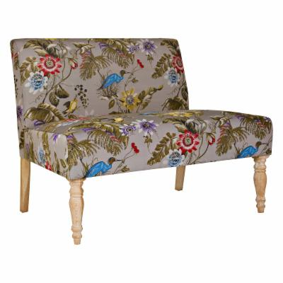 angelo:HOME Bradstreet Settee - Antique Floral Bird