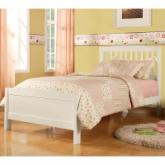  Albion Trundle Bed - White