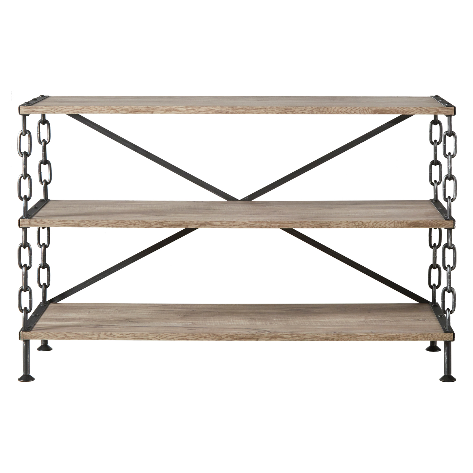 Homelegance chain link support sofa table tv stand