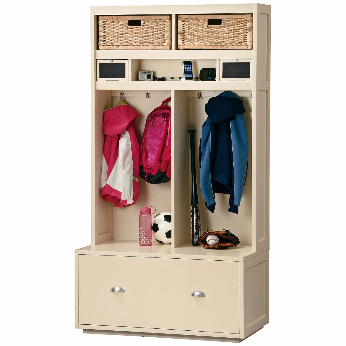 Ty Pennington Collection Mudroom Locker I by Howard Miller - Hall ...