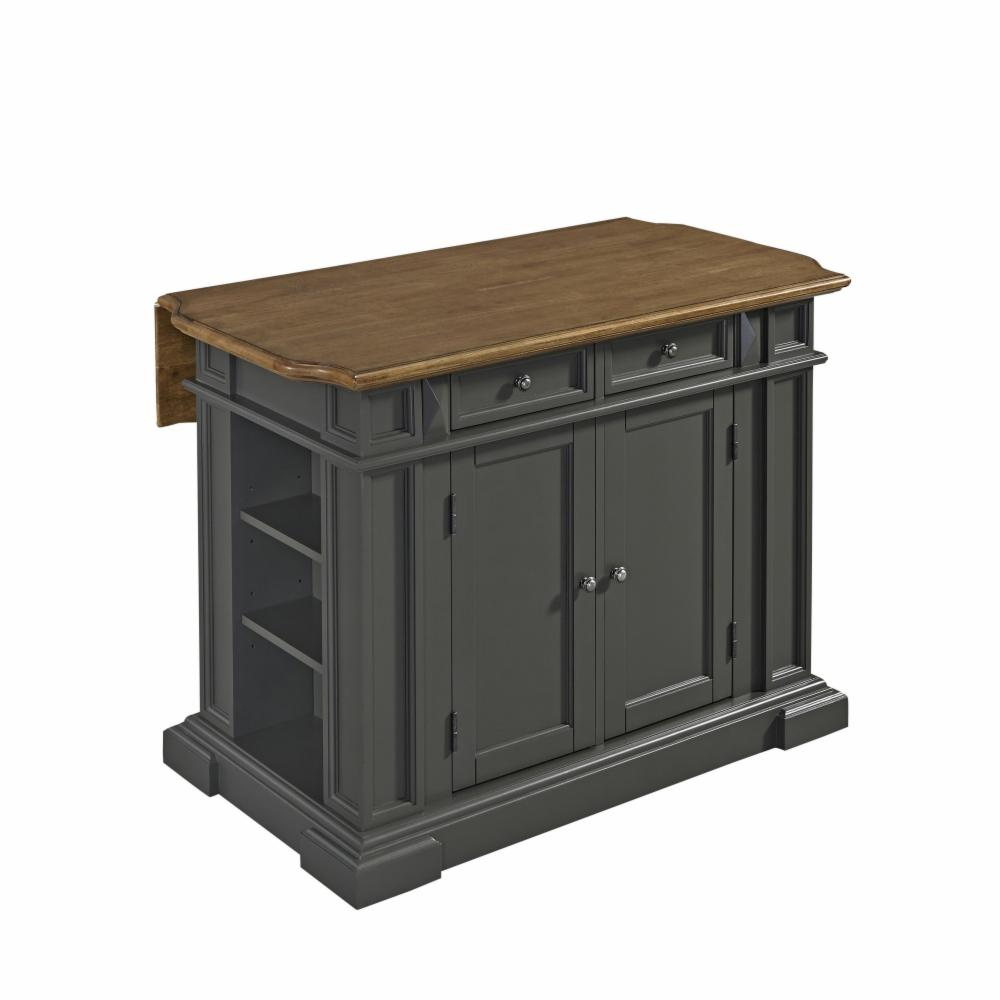 Home Styles Americana Kitchen Island Gray Ebay
