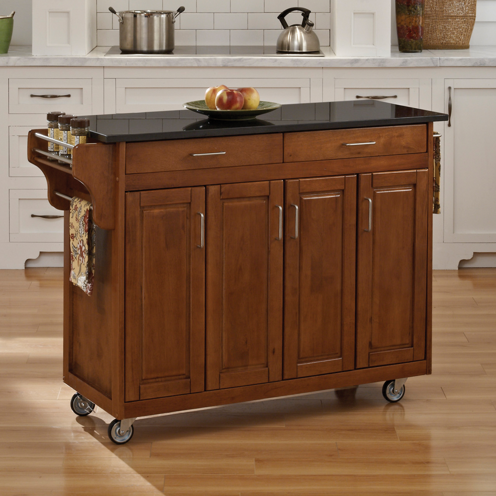 Creating A Kitchen Island: Home Styles Large Create-a-Cart Kitchen Island
