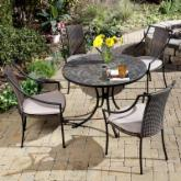  Stone Harbor Mosaic Outdoor Dining Set