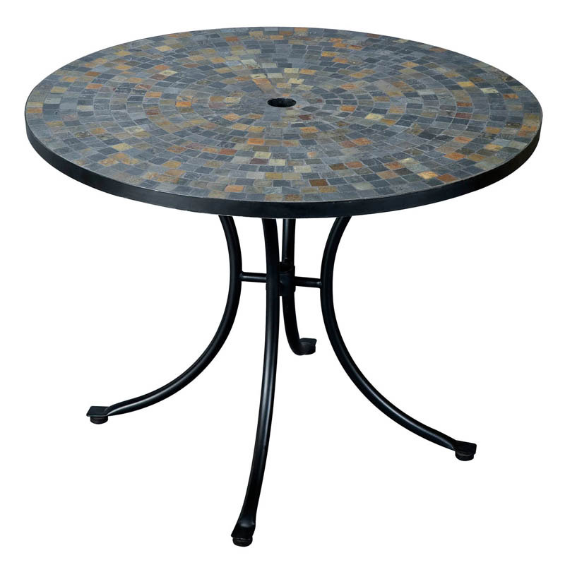 Home Styles Stone Harbor 51 In Round Patio Dining Table