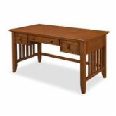  Home Styles Arts and Crafts Executive Desk - Cottage Oak