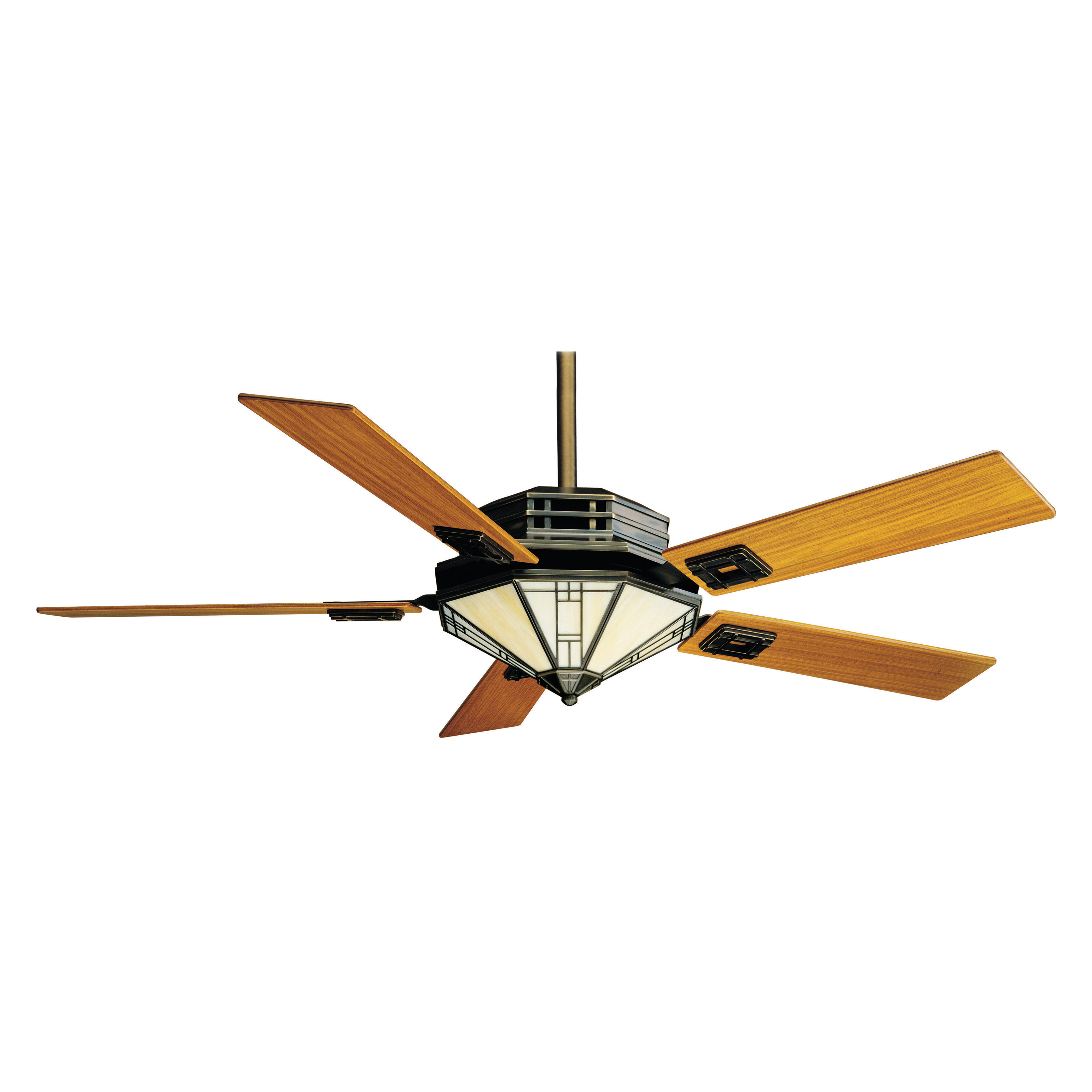 Casablanca 56 In Mission Indoor Ceiling Fan With Light