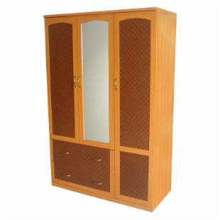 Home Source Wardrobe with Mirror