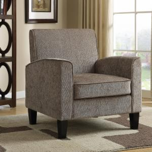 PRI Upholstered Accent Arm Chair