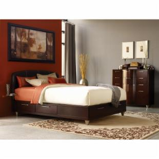Aura Storage Platform Bed