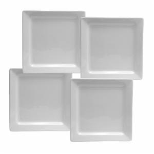 Oneida Chef's Table Square Salad Plates - Set of 4