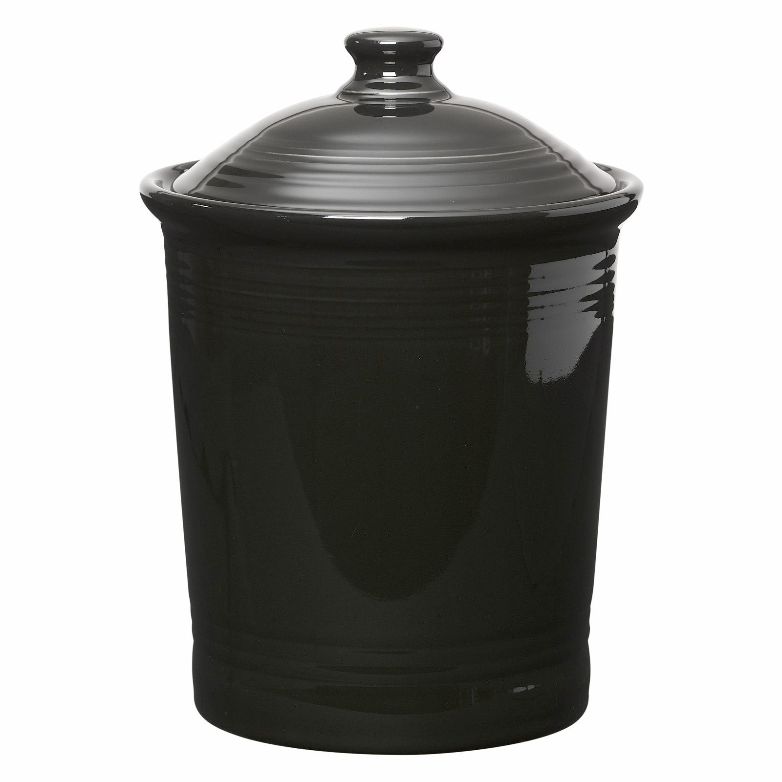 Fiesta Dinnerware Black Large Canister 3 Qt At Hayneedle