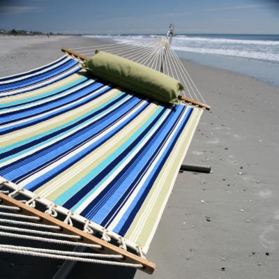 Pawleys Island Beaches Quilted Duracord Fabric Hammock