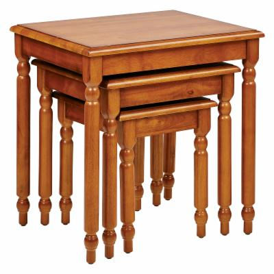 (end and night tables) Office Star Products Knob Hill Nesting Table